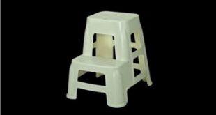 چهارپایه پلاستیکی پله دار