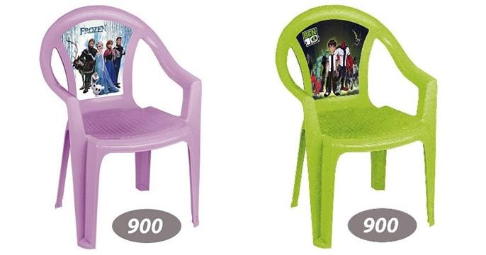 صندلی پلاستیکی کودک عکس دار