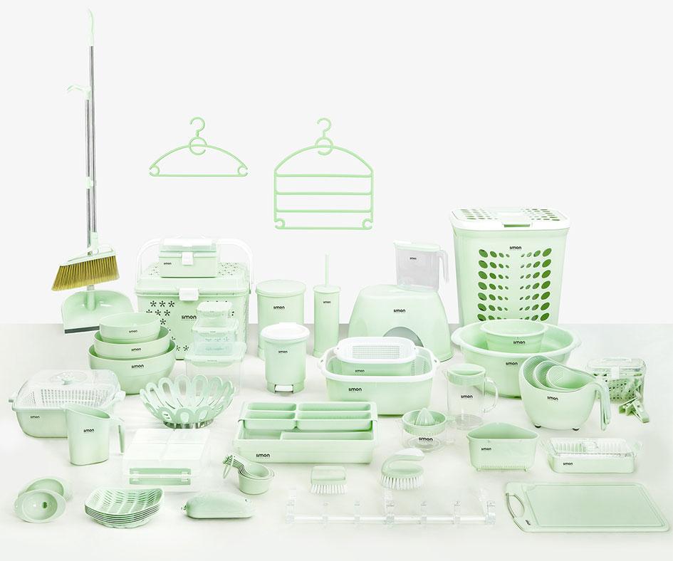 سرویس کامل لوازم آشپزخانه پلاستیکی