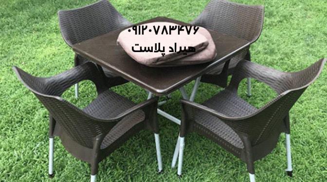 میز و صندلی پلاستیکی اصفهان